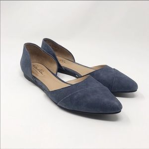 Abella | Quarlet Flat Suede Blue